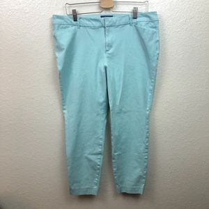 Old Navy Pixie Mid Rise Pants Size 14 Green